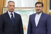 علی شمخانی میزبان نخست وزیر عراق