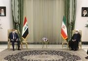 محور گفتگوی بین روحانی و نخست وزیر عراق/ الکاظمی: دفاع از ایران را سرلوحه خود قرار میدهیم
