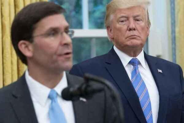 واکنش تند ترامپ به اقدام وزیر دفاع آمریکا برای ممنوع کردن پرچم کنفدراسیون