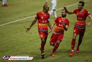 ادامه روند صعودی فولادخوزستان با برتری شیرین مقابل ذوب آهن در لیگ برتر/تصاویر