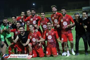 قهرمانی زودهنگام پرسپولیس در لیگ برتر با برتری مقابل نفت مسجدسلیمان/تصاویر