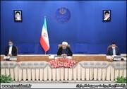 جلسه هیات دولت با پیگیری اتفاقات و شایعات اخیر در کشور/تصاویر