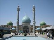 اقامه نماز عید قربان در مسجد جمکران