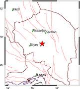 زلزله ۴.۲ ریشتری در کرمان