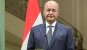استقبال برهم صالح از برگزاری انتخابات زودهنگام