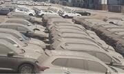 ۱۱۰۰ خودرو بلاتکلیف در گمرک داریم