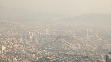 ازن باز هم هوای تهران را آلوده می کند