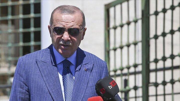 پای اردوغان روی خط قرمز