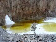 نمای دیدنی از معدن نمک در گرمسار / عکس