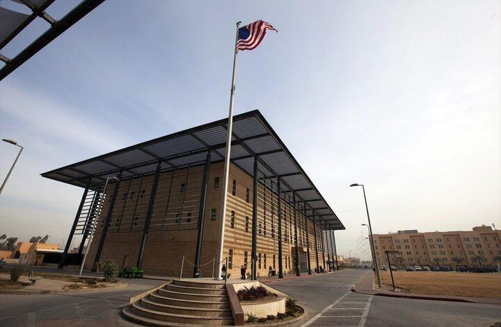 حمله به سفارت آمریکا در منطقه سبز بغداد