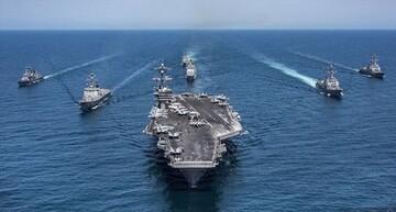 استقرار نیروی دریایی آمریکا در نزدیکی سواحل لبنان