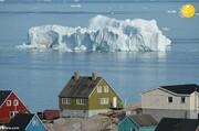 ذوب شدن یخهای گرینلند با افزایش دما کره زمین/تصاویر