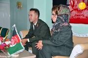 جشن عروسی متفاوت عروس و داماد افغانی با لباس نظامی + فیلم