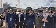 بازدید وزیر دفاع ایران از نمایشگاه نظامی - فنی روسیه