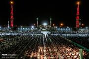 مراسم عزاداری شب چهارم ماه محرم در مسجد مقدس جمکران/تصاویر