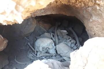 ماجرای کشف اسکلت انسان در غار کوچک در سمنان