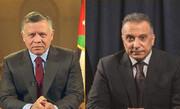 دیدار الکاظمی با شاه اردن