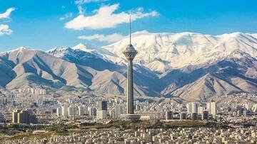تهران خنکترمی شود