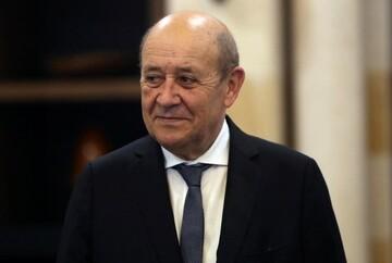دیدار وزرای خارجه فرانسه و چین