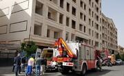 جزئیات آتش سوزی یک برج مسکونی در شیخ بهایی