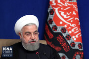 روحانی: شبکه «شاد» باید رایگان باشد/فیلم