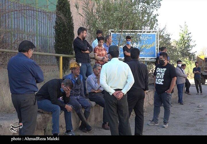 تصاویری از معدن ذغال سنگ هجدک کرمان پس از ریزش