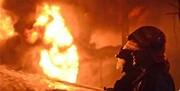 وقوع آتش سوزی در بازار شیخ صفی تبریز