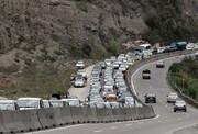 ترافیک هراز و کندوان پرحجم است