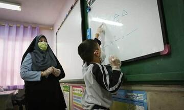 معلمان یک مدرسه در کرمان کرونایی شدند
