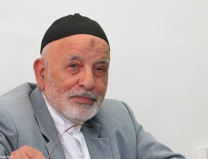 پیام رهبر انقلاب درپی درگذشتِ حاج علی شمقدری