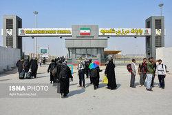 آخرین وضعیت حضور زائران در مرز شلمچه