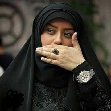 دلیل مهاجرت خانم بازیگر مشخص شد؛ الهام چرخنده به همراه همسرش حجت الاسلام سید محمد درویشی + عکس