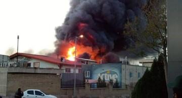 جزئیات آتشسوزی در کارخانه اکتیو اشتهارد