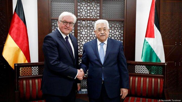 محمود عباس با اشتانمایر مذاکره کرد