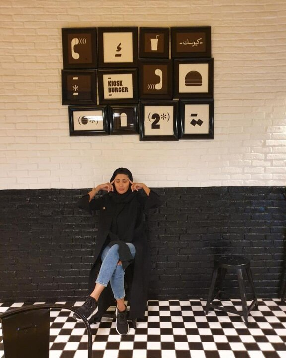 مریم معصومی با تیپ باشگاه + عکس