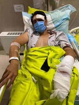جزئیات تصادف شدید امیرحسین صادقی+ عکس