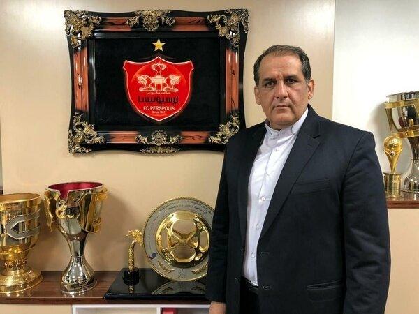 حمله دسته جمعی بازیکنان پرسپولیس به مدیر باشگاه +عکس
