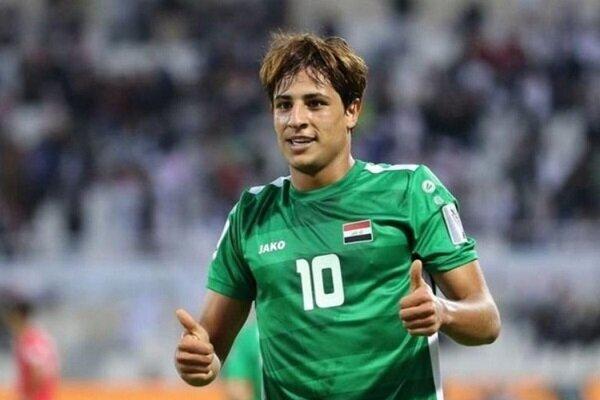 ابتلای مهاجم تیم ملی عراق به کرونا