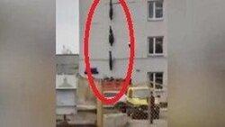 فیلم اجساد کرونایی آویزان از ساختمان بیمارستانی در روسیه چه بود؟