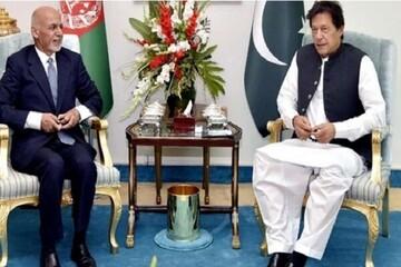 عمران خان در راه افغانستان