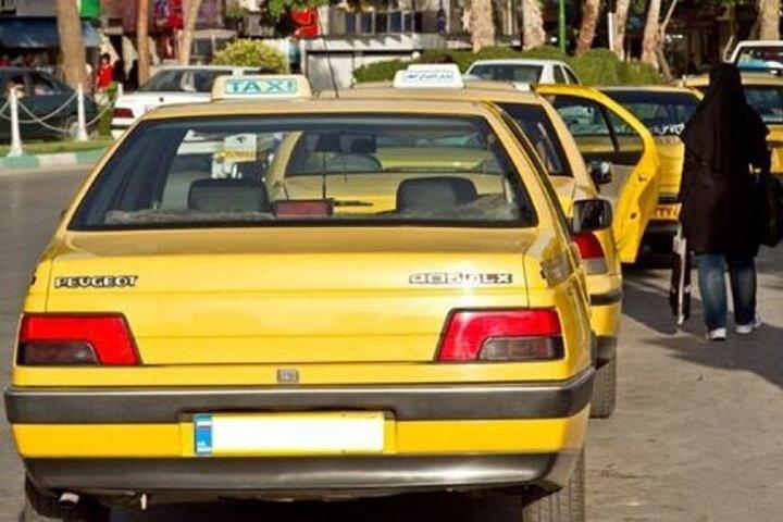 آموزش سوار شدن تاکسی در ایام کرونا + فیلم