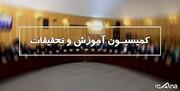 حاجیمیرزایی نمایندگان را در کمیسیون آموزش قانع کرد