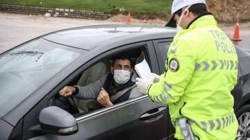 درگیری وحشتناک پلیس با دختر جوان به دلیل عدم استفاده از ماسک + فیلم