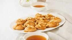 کوکی بادام زمینی خوشمزه عسلی + طرز تهیه