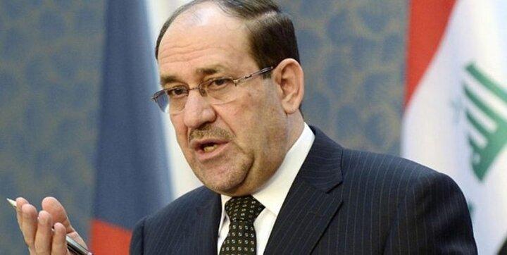 نوری المالکی خواهان برخورد واقع گرایانه دولت عراق با راکت پراکنی ها شد