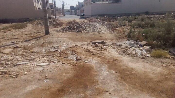 ورود فاضلاب شهری به منازل خوزستانی ها + فیلم
