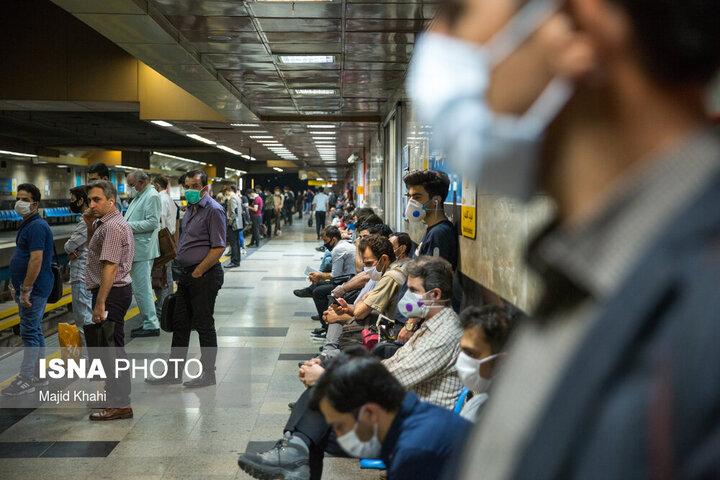 خط شش متروی تهران جمعه ۱۱ مهر سرویس دهی ندارد