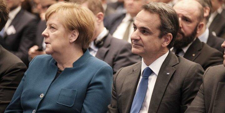 هشدار مرکل درباره احتمال جنگ ترکیه و یونان