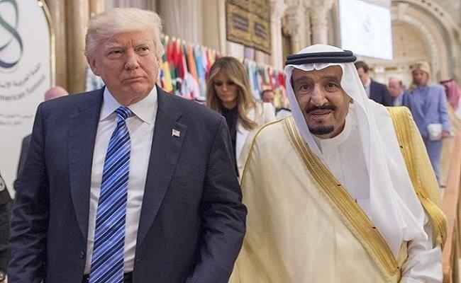 حکم اعدام ملک سلمان و ترامپ صادر شد