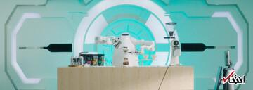 رونمایی از جدیدترین ربات قهوهچی جهان